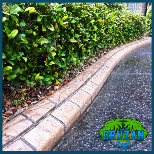 Cruzan Curbs - Custom Stamped Edging - Paver